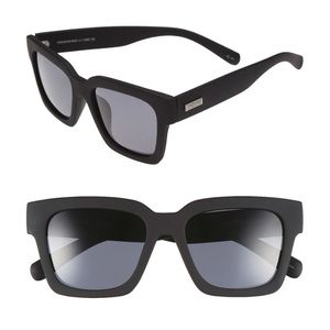 LeSpecs 'Weekend Riot' 55mm Sunglasses